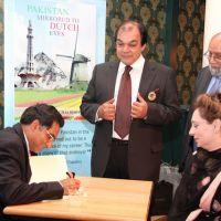 Amsbassador book signing